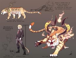 DAMMED: Baeranth Ref Sheet by Lanmana