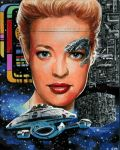Star Trek sketch card for Rittenhouse card set. AP by Kapow2003