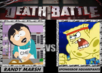 Death Battle, Randy Marsh VS Spongebob Squarepants by 4xEyes1987