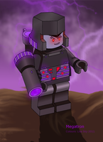 Lego Megatron Version 1 by ActorzInc