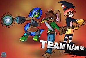 Team Maniko [Gift] by GamefreakDX