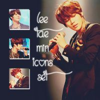 Lee Taemin Icons Set by kamjong-kai