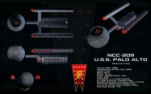 Daedalus class ortho - USS Palo Alto by unusualsuspex