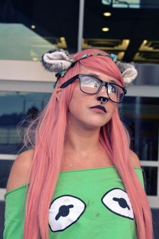 A Deer at Anime Revolution 2014 by Hxes