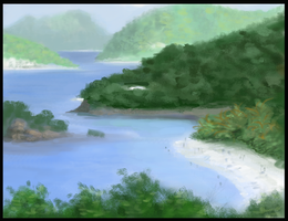Virtual Plein Air-Isles by RavenousFire