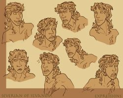 Severian design - Expressions by Shazzbaa