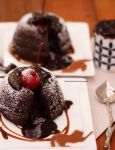 Molten Chocolate Lava Cake by theresahelmer