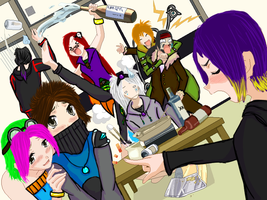 OOC Party, yay. by Vulbreeon