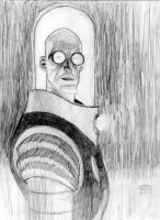 mr. freeze pencil commission by Andrew-Robinson