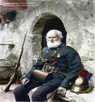 The last soldier of Liechtenstein colorized by OldHank