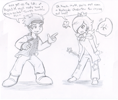 Commish: Smash Talk by Nintendrawer