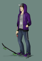 SSX: Casual Mac by tsukinoyagami