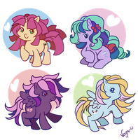 Pushi Ponys by VegaNya