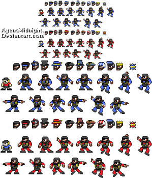 Demo Man Sprites and Hats by AgentMidnight