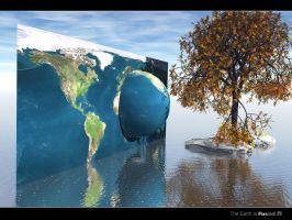 The Earth is Round flat 3 by swarfega
