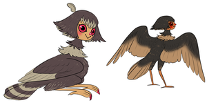 harpy concept by Spoonfayse