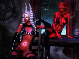 Darth Talon Plus One by Aphrodite-NS