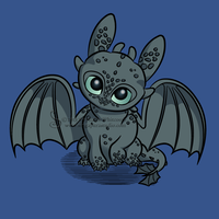 How to Train Your Baby Dragon Shirt Design by SingapuraStudio