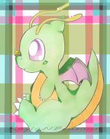 baby dragonite by ApocalypseKitty
