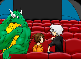 At the Theater by Letdragon