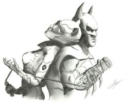 Batman and Catwoman by Juanmnl29