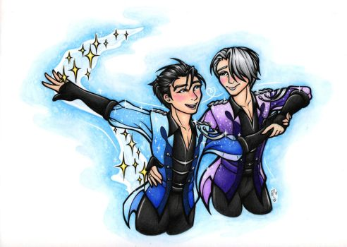 Yuri on Ice: Stay Close to Me by ToastyLynx