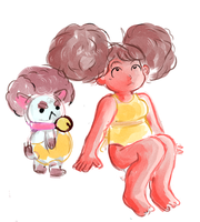 bee and puppycat by X3carlyX3