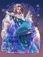 Elsa: Let the Storm Rage on by Foxsnout45