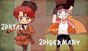 2P!Contest : Italy and Germany by Mizuka-san