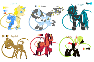 My Little Pony Adopts:SOLDOUT: by FlyawayHeart