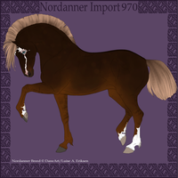 Nordanner Import 970 by BrindleTail