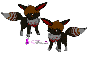 BlackEye the Eevee by Filly-Milly
