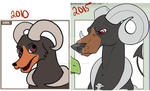 Houndoom Improvement by le-loup-blanc