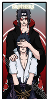 Brothers bookmark by TwinEnigma