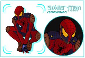 Spider-Man redesigned by VictorNeveu