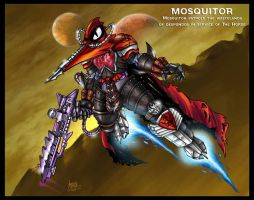MOSQUITOR redesign by oICEMANo