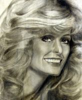 R.I.P., ANGEL - Farrah Fawcett by noeling