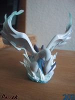 Lugia sculpture