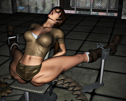 Lara Croft in Peril: The Spreader 19 by FatalHolds