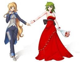 Wedding Reference: Kyrius x Lim by NaokoYiran