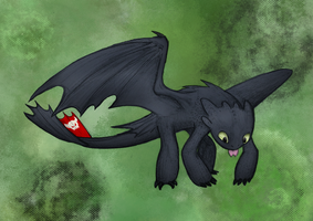 Toothless by MF99K