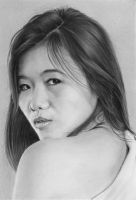 Pencil portrait of Lioni by LateStarter63