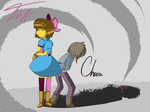 Frisk/Chara MadTale by HoveringAbout
