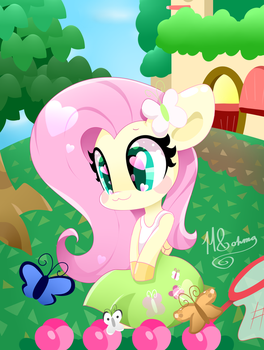 Animal Crossing: Fluttershy has moved in! by HungrySohma16