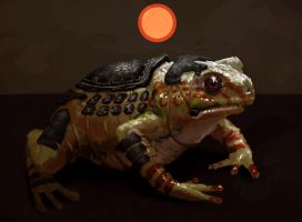 Armoured War Toad by Chenthooran
