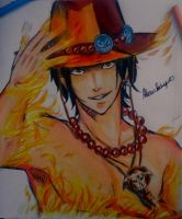 Portgas D. Ace by AlexiaRodrigues