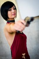 Ada Wong Cosplay Resident Evil 4!! by CosmicNya