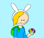 Fionna with Vacuum Shroom by SuperMarcosLucky96