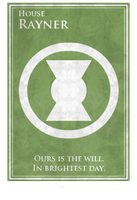 House Rayner - Game Of Thrones/ Dc Universe by Melciah1791