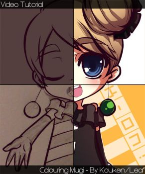 Colouring Tutorial - Mugi by MightyLeafy